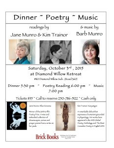POSTER - DIAMOND WILLOW READING & CONCERT (1)